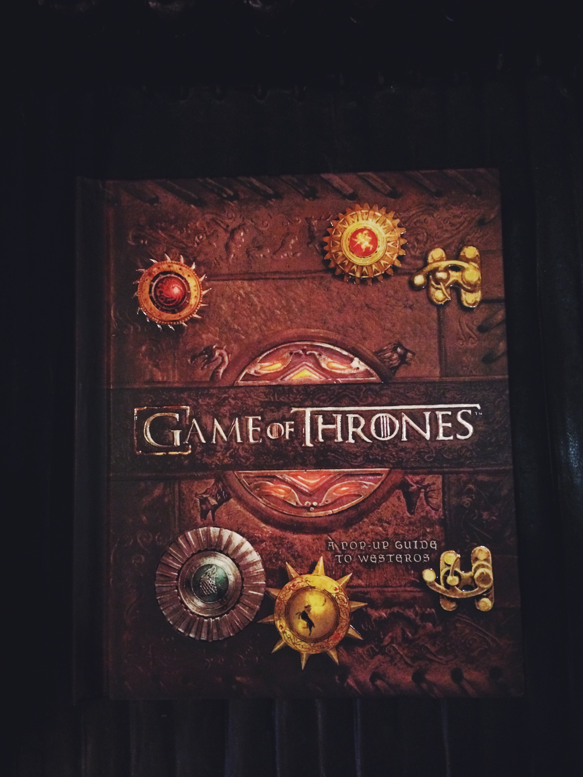 The Game Of Thrones Pop Up Book Is Best We Have Ever